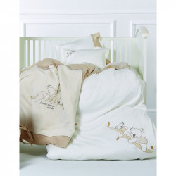 Детский плед в кроватку Karaca Home 100х120 - Koala