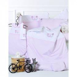 Детский набор в ванную для младенцев Karaca Home - Cats с апликацией