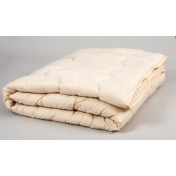 Одеяло Lotus - Comfort Wool 195х215 бежевый евро