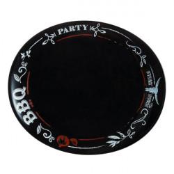 Блюдо для шашлыка 30см Luminarc Friends Time Black Saloon N2172