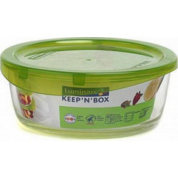 Емкость для еды круглая 920мл Luminarс Keep'n'Box L8776