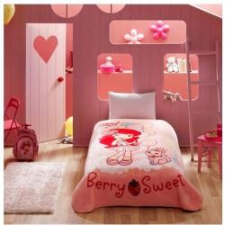 Покрывало акриловое Tac Disney подростковое - Stawberry Sweet