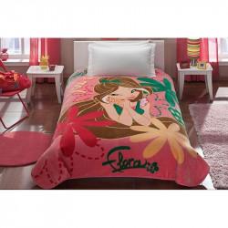 Плед - покрывало акриловое Tac Disney подростковое - Winx Flora