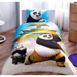 Постельное белье 160х220 подростковое Tac Disney - Kung Fu Panda Movie