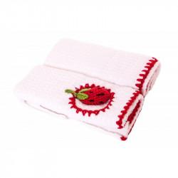 Набор кухонных полотенец Tac 70х40(2) - Клубника 3D