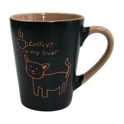 Кружка 320мл Milika Coffee Cat Azur M0420-38022A