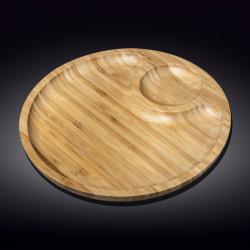 Блюдо круглое 2 секции 35,5см Wilmax WL-771045