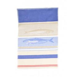 Полотенце кухонное жаккардовое Home Line 40х60 Рыба