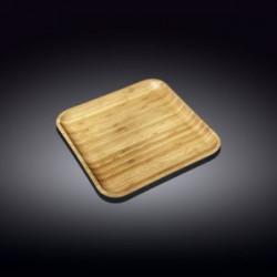 Wilmax.Bamboo.Тарілка  квадратна 17,5х17,5см