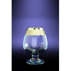 Бокалы для бренди 250мл/6шт (Роуз) декор Золотой карат GK22-483