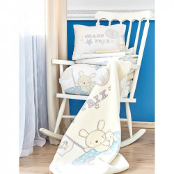 Детский плед в кроватку Karaca Home 100х120 - Champion 2018-1