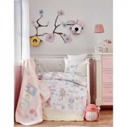 Детский плед в кроватку Karaca Home 100х120 - Happy 2018-1