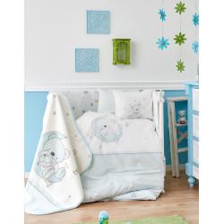 Детский плед в кроватку Karaca Home 100х120 - Moon 2018-1