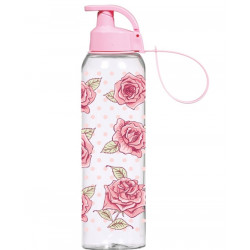Бутылка для спорта 0,75л Herevin Pink Rose 161405-090