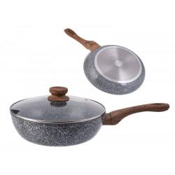 Сковорода Вок литая 24см Kinghoff KH1170