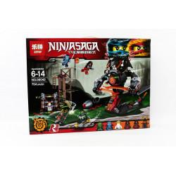Конструктор 734д Lepin Ninjago 06042