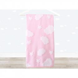 Полотенце детское Irya - Cloud 70х120 розовое
