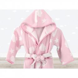 Халат детский Irya - Cloud розовый 5-6 года