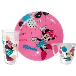 Набор 3пр Luminarc Disney Party Minnie L4877