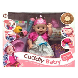 Кукла функциональная Cuddly Baby - 41 см (6658-3)