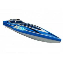 Катер р/у XQ Offshore Racing Boat 1:28 27/40 МГц (3264)