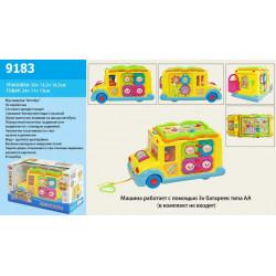 Музыкальный развивающий Забавный автобус 9183
