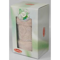 Полотенце махровое 50х90 Hobby - Sidelya пудра
