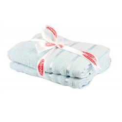Набор полотенец махровых 2шт 50х90 Hobby - Nisa голубое