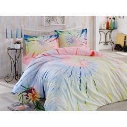 Комплект постельного белья евро Hobby Batik - Helezon розовый