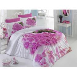 Комплект постельного белья евро Hobby 3DPoplin - Love Story