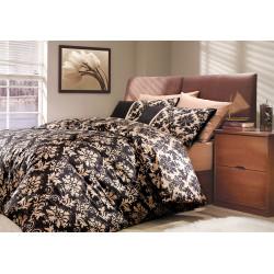 Комплект постельного белья полуторный Hobby Poplin - Avangarde коричневый