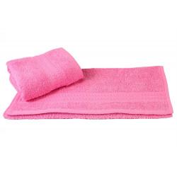 Полотенце махровое 30х50 Hobby - Rainbow светло-розовое