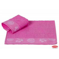 Полотенце кухонное 30х50 Hobby - Meyve розовое