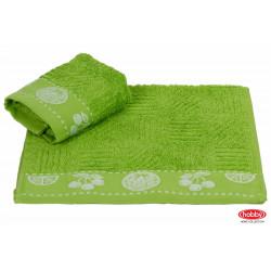 Полотенце кухонное 30х50 Hobby - Meyve зеленое