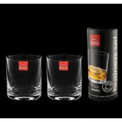 Стаканы для виски в тубусе 2 шт Rona Business set