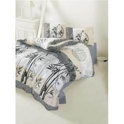 Комплект постельного белья полуторное LightHouse Bambu бежевый