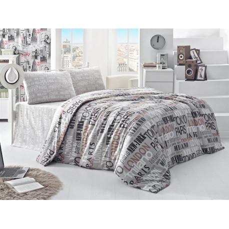 Комплект постельного белья полуторное LightHouse City Style