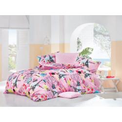Комплект постельного белья полуторное LightHouse Love Paris розовый