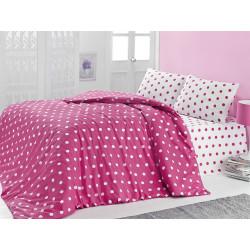 Комплект постельного белья полуторное LightHouse Round розовый