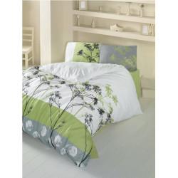 Комплект постельного белья евро LightHouse Belezza зеленый