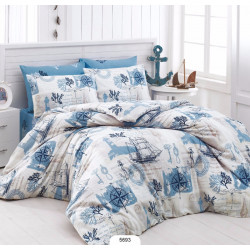 Комплект постельного белья евро LightHouse Compass