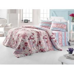 Комплект постельного белья евро LightHouse Flower розовый