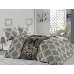 Комплект постельного белья евро LightHouse Premier бежевый
