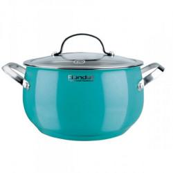Кастрюля 5,2 л Rondell Turquoise (RDS-719)