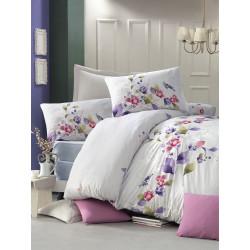Комплект постельного белья евро LightHouse ranforce Scalie