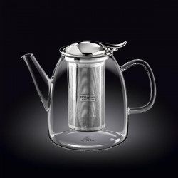 Заварочный чайник с металлическим ф-м Wilmax Thermo 1500мл WL-888805