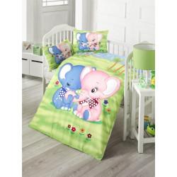 Постельное белье для младенцев LightHouse Elephant