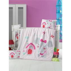 Постельное белье детское Victoria Pink House