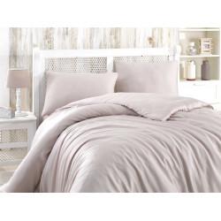 Комплект постельного белья евро Hobby Bamboo - Soft бежевый