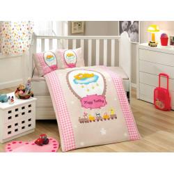 Постельное белье детское Hobby Bambam розовое